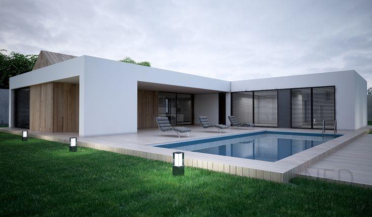 Architektúra rodinného domu VYS je odvinutá od projekt domu LAN, ktorý bol robený v Čechách ale aj napr. v Martine. Projekty domov charakteru VYS posúv.....