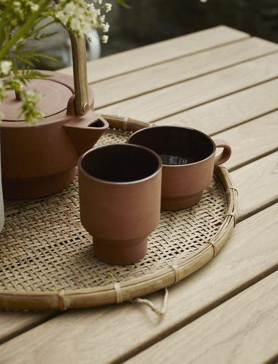 Skagerak Edge Mug made of Terracotta