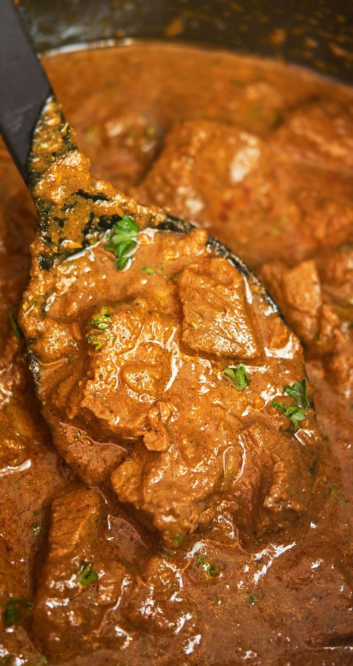 Quick And Easy Beef Curry Recipe Homemade With Simple Ingredients In Instant Pot In 30 Minute Beef Recipe Instant Pot Beef Curry Recipe Easy Beef Curry Recipe