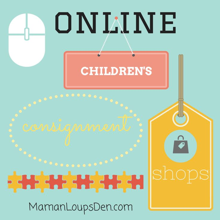 Don't have a good second-hand shop near you? Want to sell your kids' clothing without the hassle? Check out these online children's consignment shops.