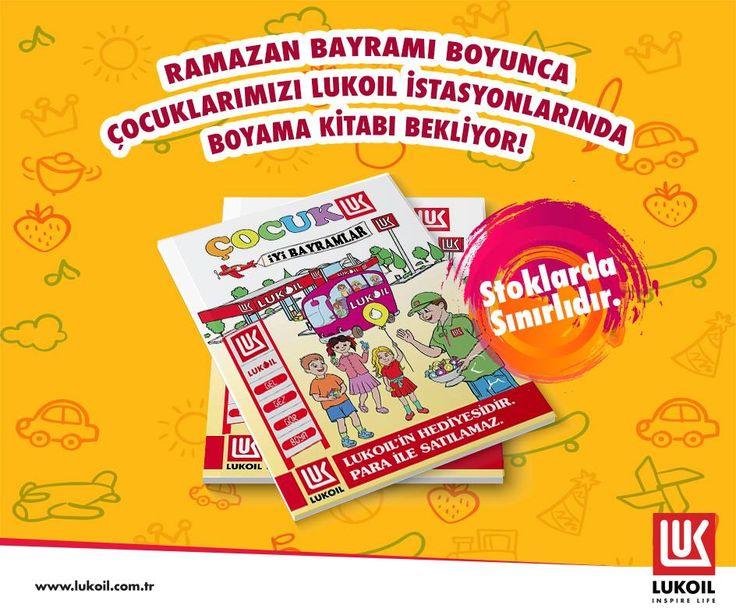 Ramazan Bayramı'na özel, çocuğu ile istasyonlarımıza gelen herkese boyama kitabı hediye ediyoruz! :) http://bit.ly/2s31vzl #LukoilTürkiyeYılmazPetrol