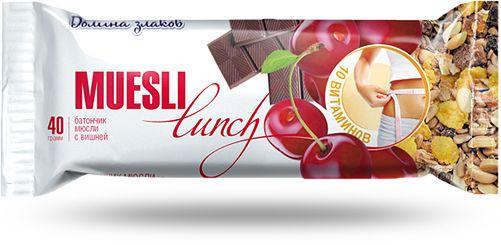 Батончики мюсли «Muesli lunch» - #вишня #food #lunch #health
