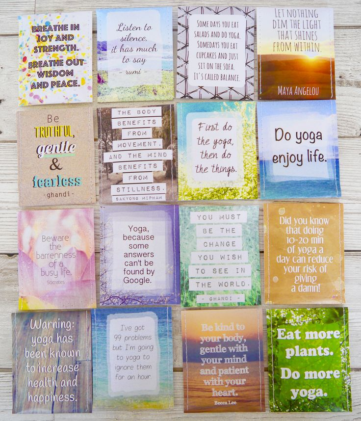 Yoga lovers tea - perfect gift for yoga lovers - inspirational quotes and cute designs - by victoria mae designs.