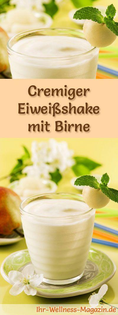 Eiweißshake mit Birne – Smoothie & Abnehmshake zum selber machen
