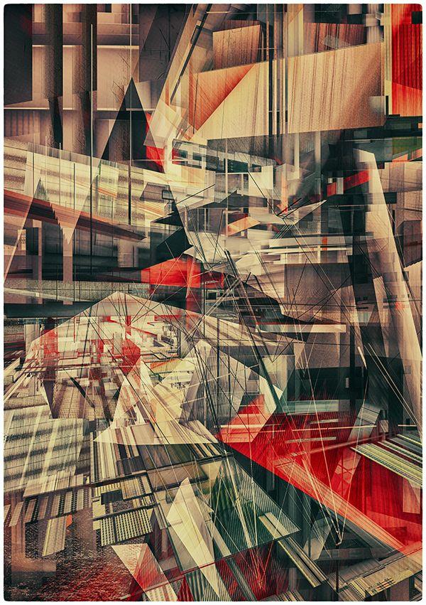 CONSTRUCTIVISM by atelier olschinsky , via Behance