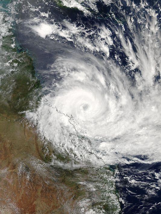 EPA SPACE AUSTRALIA CYCLONE DEBBIE WEA WEATHER WARNINGS ---