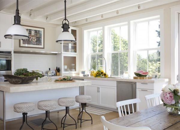 Find your Style: 10 Modern Country Kitchen Inspirations | eatwell101.com