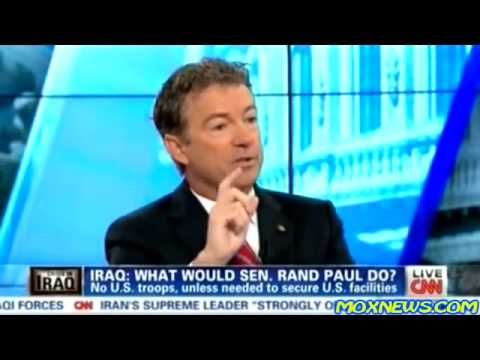 "▶ RAND PAUL TELLS US THE TRUTH ""CIA FUNDED ISIS UNDER OBAMA ADMIN TO PROMOTE MORE WAR IN MIDDLE EAST"" - YouTube"