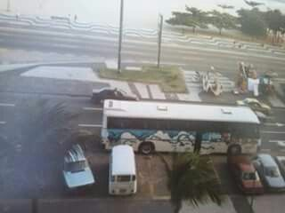 Unser Reisebus in Rio ..