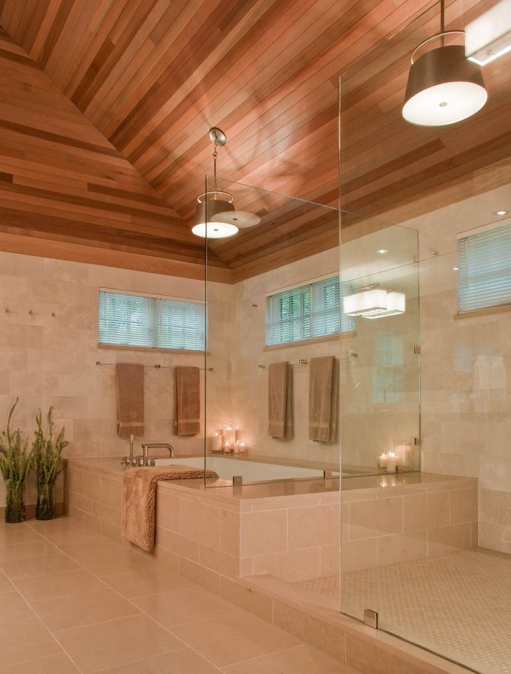 19 best master bathroom layouts images on pinterest for Spa bath designs and layouts