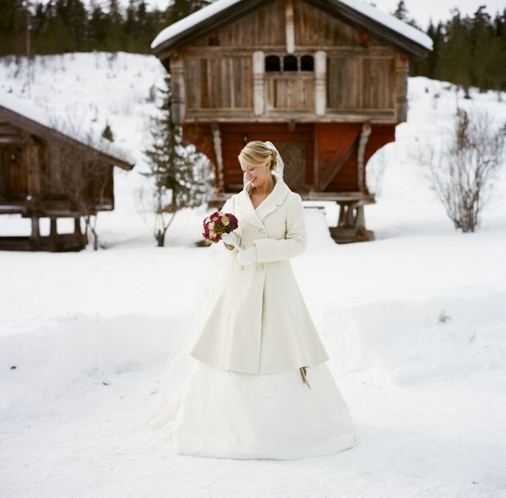 Norwegian Wedding in Winter