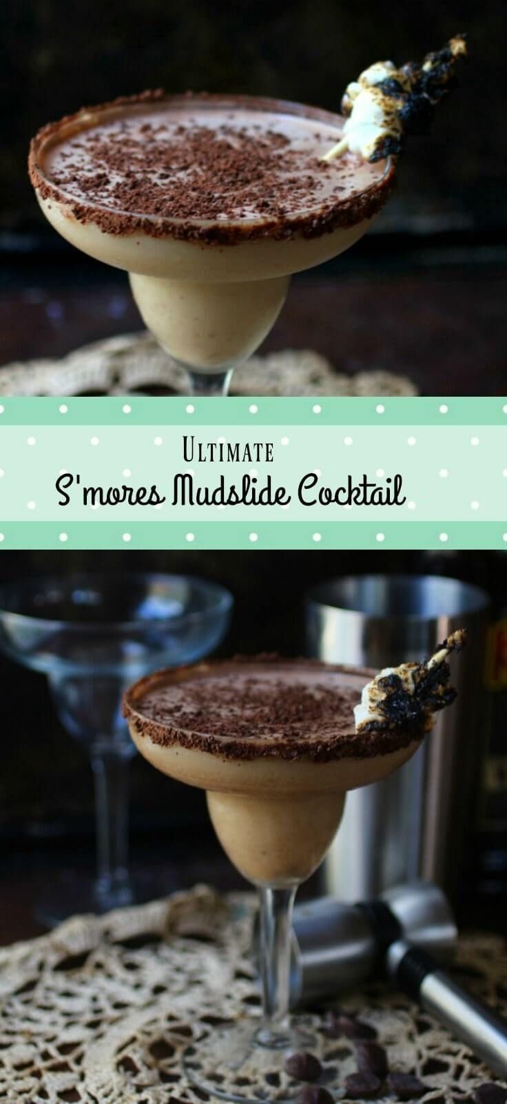 You're going to love this ultimate mudslide cocktail recipe! #Choctoberfest From RestlessChipotle.com