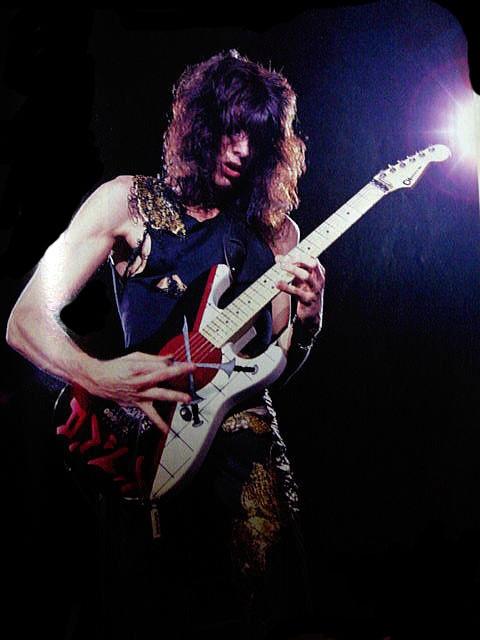 Warren DeMartini of Ratt. Favourite 80's guitar God.