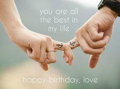 Happy Birthday For Him: 50 Birthday Wishes For Your Boyfriend