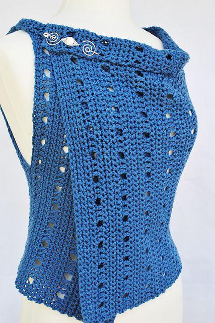 Free Crochet Pattern For Sweater Vest : 25+ best ideas about Crochet vest pattern on Pinterest ...