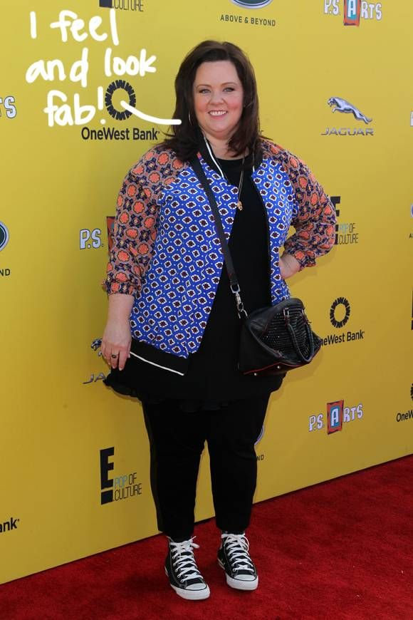 Melissa McCarthy Has Reportedly Lost 45 Pounds --- And It's All Because Of Her Kids!