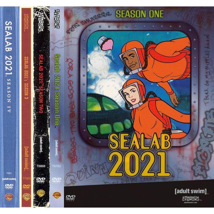 Sealab 2021: Seasons 1-4 [8 Discs]