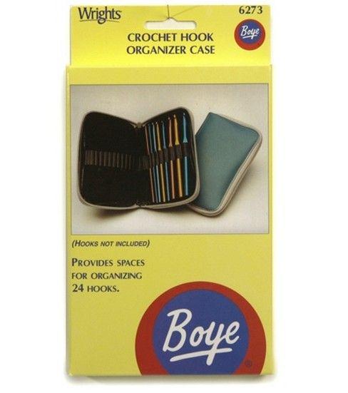 "Boye Crochet Hook Case 4"" x 7""Boye Crochet Hook Case 4"" x 7"","