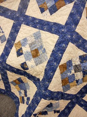 I love this pattern, depending on colorway, could be great for a male. Jelly Roll Quilt Tutorial