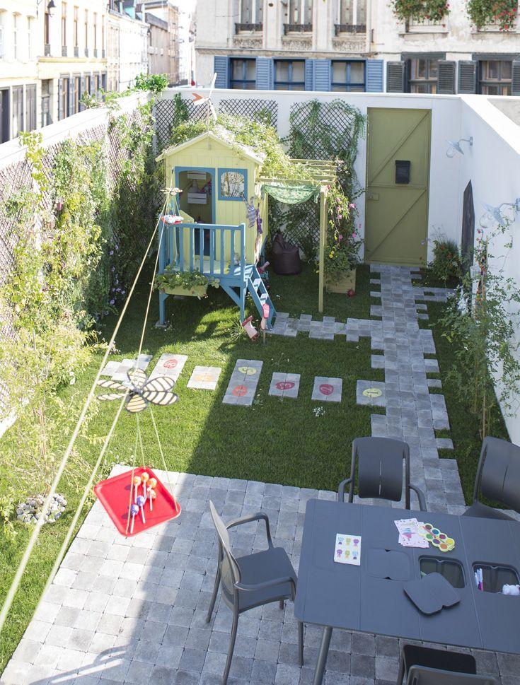 17 meilleures id es propos de plan cabane enfant sur pinterest cr er un plan tente indienne - Amenagement petit jardin de ville angers ...