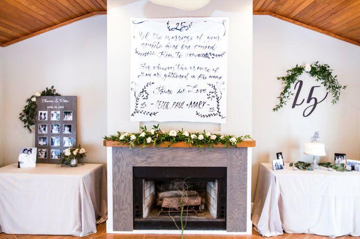 25 Wedding Anniversary Celebration Ideas: Best 25+ 25th Anniversary Decor Ideas On Pinterest