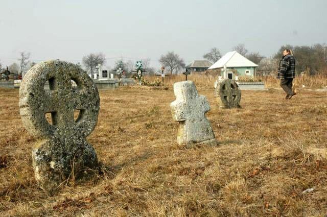 Misterioasele cruci celtice de  la Ariniş