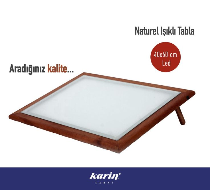 Karin Naturel Işıklı Tabla  %15 indirimle karinsanat.com/catalog/categories/view/157 #karinsanat #ledlitabla #ledlimasa #resim #painter