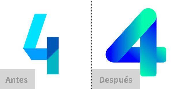 Rebranding Channel 4 Finlandia Rebranding Branding Bar Chart