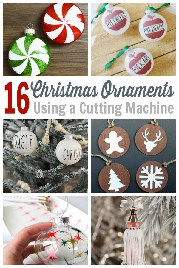 Cricut Christmas Ornament Project Ideas - Use these SVG files to create Christmas  ornaments for the holiday season. From funny to farmhouse, these ornaments  ... - Cricut Christmas Ornament Projects - Holiday Crafting Fun! Cricut