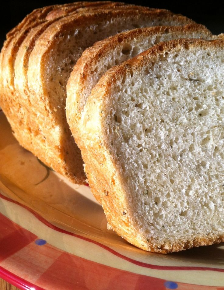 Rosemary Bread!!  Tastes just like Macaroni Grill.  I used my bread machine on light crust setting, and it turned out fantastic!!  Very light and delish!!