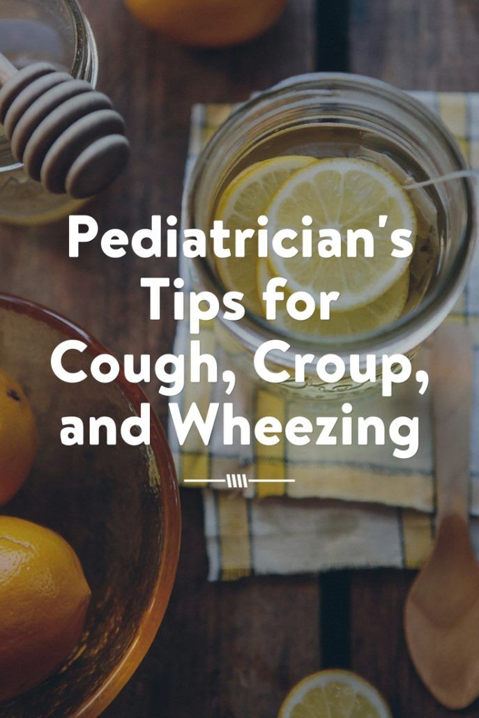 Pediatrician's Tips for Cough, Croup, and Wheezing (pin)