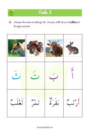 1 Livret d'activités ludiques et colorées pour vos petits dès 3 ans pour s'initier à la lecture et à l'écriture arabe. Ce livret est constitué de 32 pages à télécharger.  9 vidéos interactives pour apprendre à prononcer les mots correctement et les mémoriser par la répétition et l'association avec un mot.  Les différentes activités ludiques donnent aussi l'occasion de passer de bons moments en famille en apprenant les 28 lettres de l'alphabet arabe et du vocabulaire.