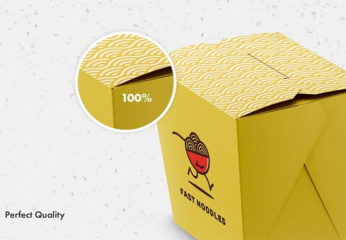 Download Free Download Stylish Noodles Packing Box Template Psd Freebies Box Template Box Mockup Packing Boxes