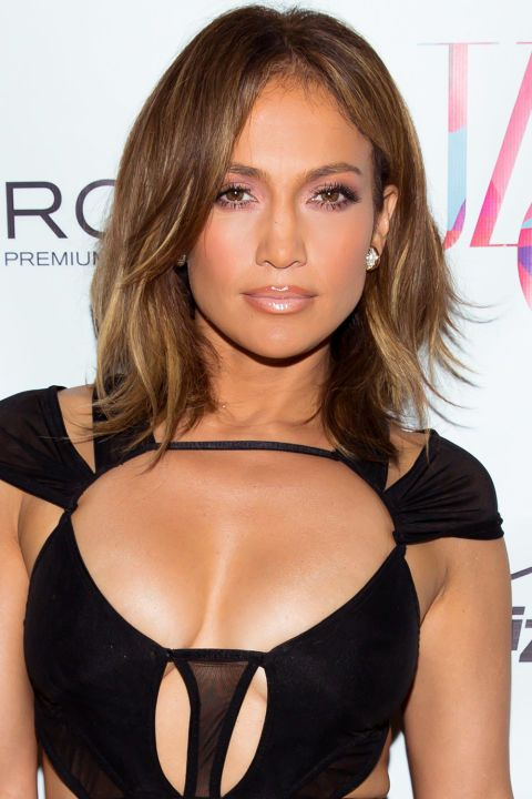 You can still ask for long layers in a shoulder-length cut. Focus them at the front, then scatter around the sides and back for movement like J.Lo's.