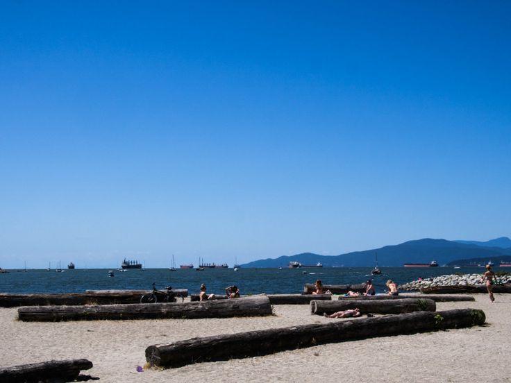 English Bay, Vancouver, Canada.