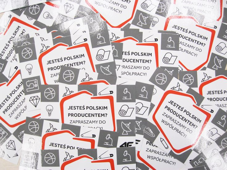 ankalipowskaDesign: ULOTKA POLSKI PRODUCENT