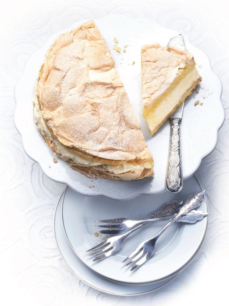 Gâteau de crêpes au lemon curd - une recette C'est la...