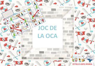 JOC DE L'OCA - ST. JORDI. DETALLS AMB ÀNIMA