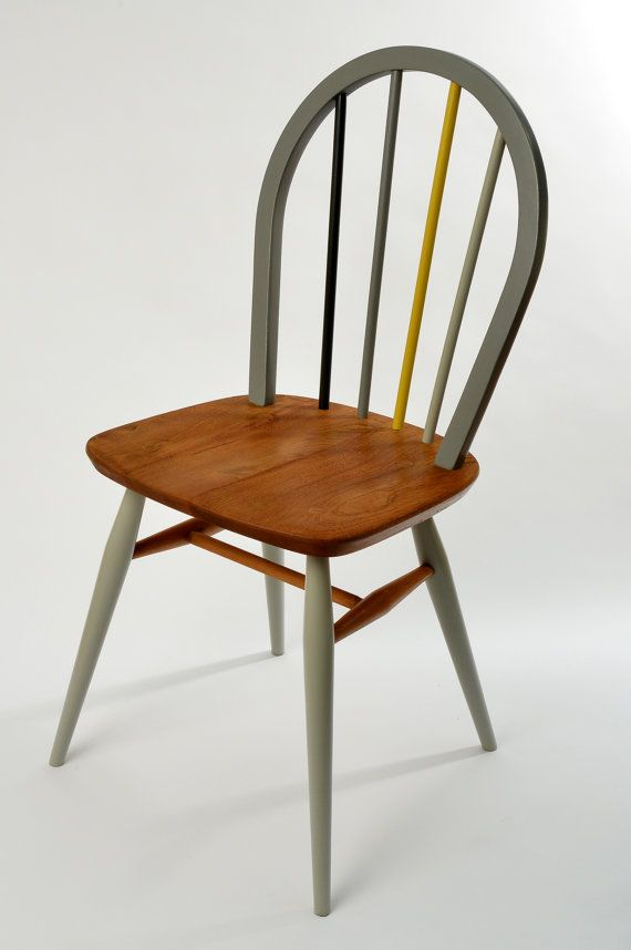 Restored and painted Ercol Windsor chairs by RestoredbyLiat, £135.00