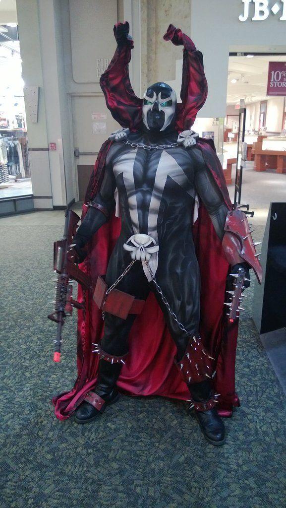 Spawn cosplay by jcshaull77 (Imgur)