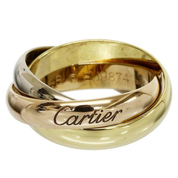 カルティエコピー Cartier トリニティ リング  K18  B16090711