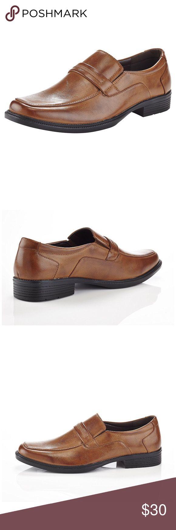 Black dress loafers platform