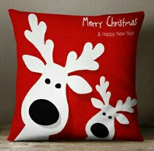 Christmas pillow idea