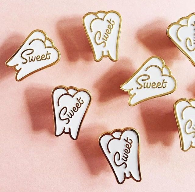Sweet Tooth pin! Considering I eat dessert breakfast (and every other meal, for that matter), this pin is perfect for me!