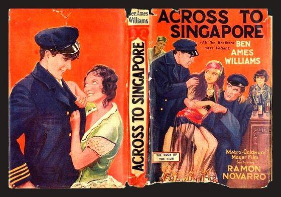 Através de Singapur, 1928: Ramon Novarro, Joan Crawford, Ernest Torrence.