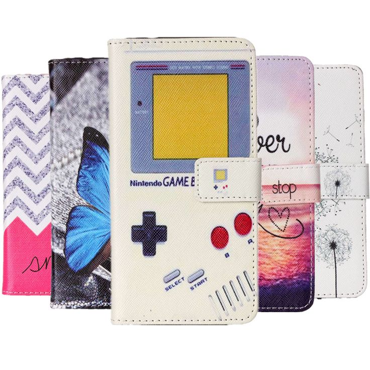 Capinha Para Case For Huawei Honor 7 Lite/5C/GT3 Coque Cover Wallet Game Consoles Butterfly Cute Dog Phone Bag Etui Hoesje Funda #Affiliate