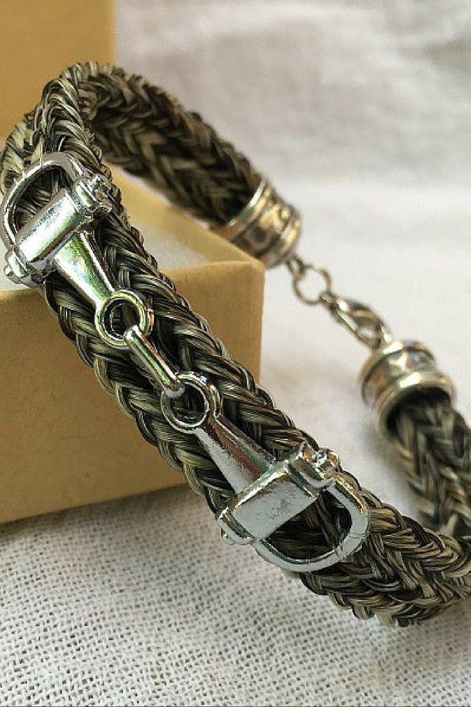 Scout ~ Bracelet with Snaffle Bit Charm