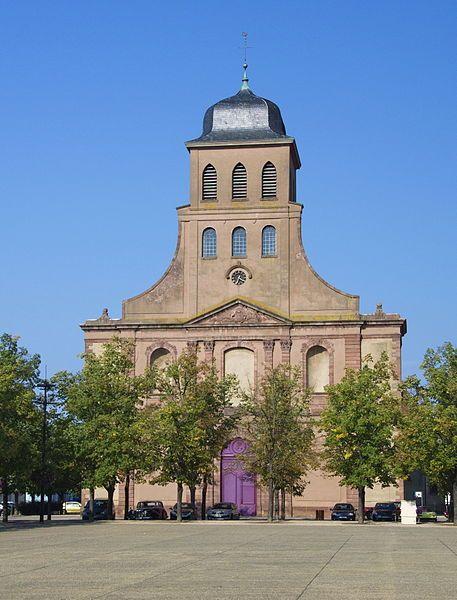 Photo du Monument Historique Eglise catholique Saint-Louis situé à Neuf-Brisach
