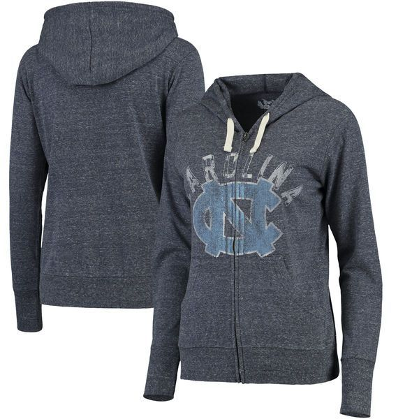 North Carolina Tar Heels Touch by Alyssa Milano Women's Training Camp Full-Zip Hoodie - Navy - $49.99
