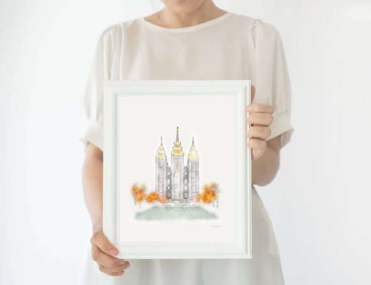 Printable, Salt Lake City LDS Temple, Latter Day Saints, SLC Temple Print, Mormon Temple Print, SLC Temple Sealing, Mormon Art, slc Temple  { BEFORE YOU BUY }  This listing is for an Instant Download/Printable. Personalized options are available under the 'Personalized' section in my shop.